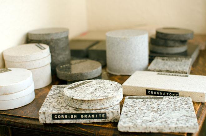 Stone types